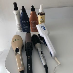 Accessories - Bundle 4 Irons and Redken Products